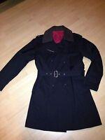 Hochwertiger Mantel von PIRELLI, schwarz, Größe 50