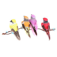 Mini fake birds artificial feather foam doves wedding decor venue orname NTAT