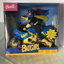 Mattel Barbie Dc Batgirl Batcycle Nib from 2003 new in sealed box