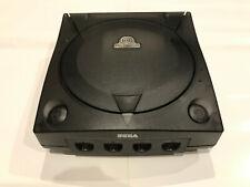 SEGA Dreamcast Console 3rd Party Translucent Case Shell Transparent Smoke Black