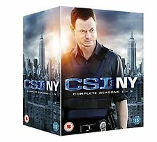 CSI NEW YORK COMPLETE SEASON 1-9 DVD Series 1 2 3 4 5 6 7 8 9 New Sealed UK R2