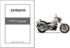 CFMoto V5 Sport Cruiser / CF250T-5 Service Repair Manual CD - CF Moto CF250 T5