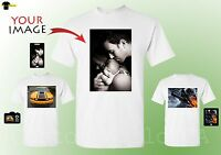 Photos on a shirt - Put your own Picture on Tshirts - Custom Made Personalized