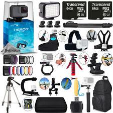 GoPro Hero7 Silver 4K Camera + 13PC Filter Kit Set + Backpack -128GB Bundle Kit