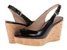 Stuart Weitzman Jean Platform Wedge Sandals!! New!! Sz. 8.5 Msrp $398.00