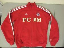 Adidas FC Bayern Munchen Track Jacket FCBM Track Soccer Football MENS M Sweater