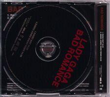 Lady Gaga Bad Romance JAPAN Import CD Single New NO UPC the fame monster remix