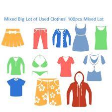100 Pcs. Used Clothes Wholesale Lot