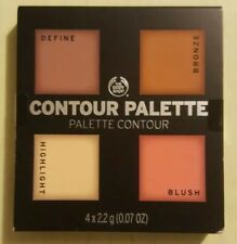 The Body Shop Contour Palette Define Bronze Highlight Blush Light To Medium