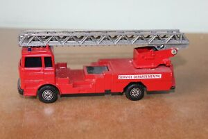 SOLIDO TONER GAM 1:50 #358 MERCEDES LP 1418/46 LADDER FIRE ENGINE Unboxed - 1974
