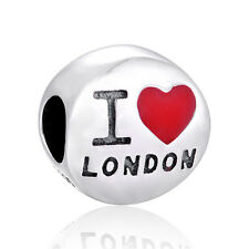 'I Love London' Charm - European Charm - London Jewellery