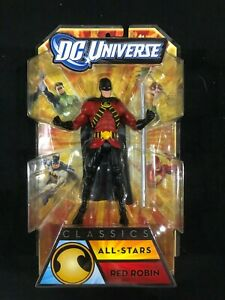 "DC Universe Classics 6"" Red Robin All-Stars Action Figure NIP"