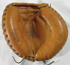 Vintage Nokona CM43 Catchers Mitt Pro Line Right Hand Throw Baseball Glove USA