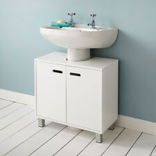New England Style Clean Lines And A Crisp White Finish Polar Under Sink Cabinet
