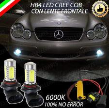 COPPIA LAMPADE FENDINEBBIA HB4 LED CREE COB CANBUS MERCEDES CLASSE C W203