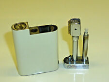 ALLUMA VINTAGE SWISS AUTOMATIC POCKET LIGHTER WITH LACQUERED CASE - 1934 - RARE