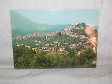 Vecchia cartolina foto d epoca di Rivello panorama veduta scorcio monti case
