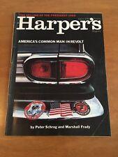 Harper's Magazine August 1969 - America's Common Man in Revolt
