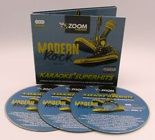 More details for zoom karaoke cd+g - modern rock superhits - 3 cd+g discs - 59 tracks