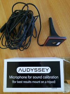 AUDYSSEY ACM1HB Sound Calibration Microphone For Denon/Marantz.Used once.