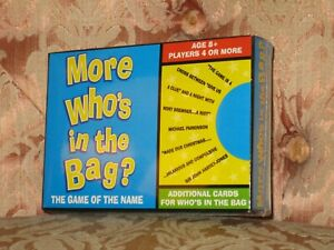 More Who's In The Bag (Additional Characters) - New & Still Sealed