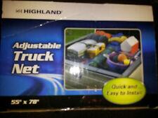 """Highland Adjustable Truck Cargo Net  55"""" x 78"""" #7552109 NEW SUPER CHEAP DEAL 4 D"""
