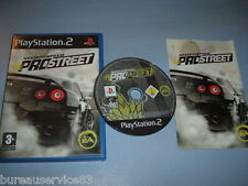 NEED FOR SPEED PROSTREET PS2 COMPLET (envoi suivi)