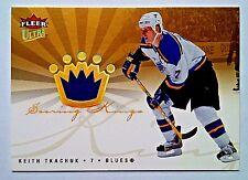 KEITH TKACHUK 2006 FLEER ULTRA SCORING KINGS GAME WORN JERSEY