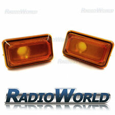 VW Golf Jetta Polo Passat Amber Orange Side Repeaters Indicator Light Lamp Lense