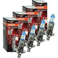 4x OSRAM NIGHT BREAKER UNLIMITED 110% mehr Licht 64150NBU 55W 12V P14.5S Halogen