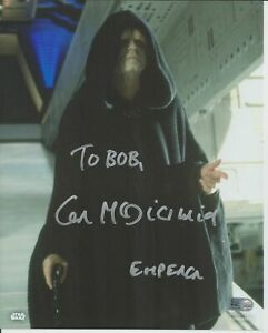 "Ian McDiarmid Autograph Star Wars Celebration 8"" x 10"" Topps Authentic"