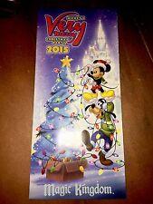 2015 Walt Disney World Mickey's very Merry Christmas Party brochure