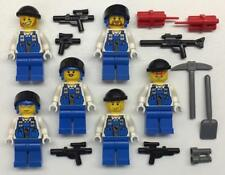 6 Lego Army Soldiers Minifigs Lot: power miners figures weapons swat team