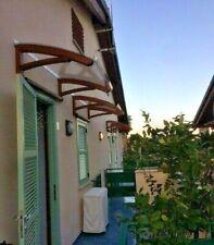 LOW-COST MOD ONDA TRANSPARENT auvent en bois de porte - toiture auvents toit