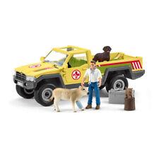 Schleich Cayenne silla /& bridle Plastic Toy Granja Mascota Animal Caballo Azul Nuevo