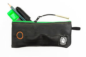 RECLAIMED PEN PENCIL CASE from SUSTAINABLE Bicycle Innertube + FREE DELIVERY