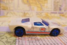 Hot Wheels Ford GT-40 loose White