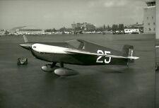 "Lot of 2 - Cassutt Plumb Crazy (#25) 8 x 10"" B & W Racing Airplane Photo Prints"