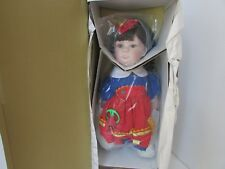 """World Gallery Doll Sew Perfect #280 Colleen Applewhite Boxed 23"""" Coa"""