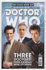 Doctor Who, Free Comic Book Day #1 (Jun 2015, Titan Comics) [Three Doctors] FCBD