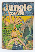 JUNGLE COMICS #76 Kaanga Battles Alone The Blood Thirsty Golden Tusk April 1946