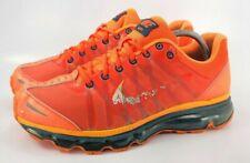 Nike Air Max+ 2009 Athletic Running Shoe Mens Size 9.5 486978-800 Orange Black