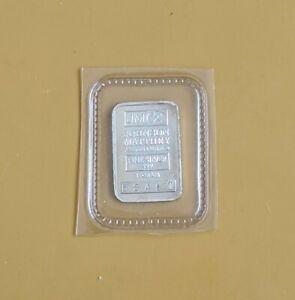 Johnson Matthey .999 Fine Silver 1 Gram Bar #B3497 Sealed In Original Packaging