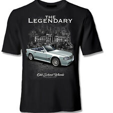 MERCEDES 500 SL R129 BLACK Shirt  AUTO T-Shirt original YOUTEX