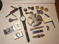 New listing Vintage Mens Junk Drawer Lot