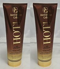 LOT OF 2 AUSTRALIAN GOLD HOT WITH BRONZERS NEW FOR 2017 FREE SHIPPING & GOGGLES