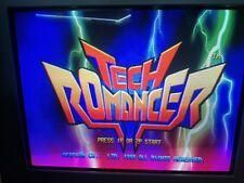 tech romancer capcom JAMMA ARCADE NEO GEO CABINET PCB ROBOT ORIGINALS