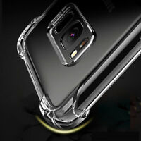Shockproof Soft TPU Clear Case For LG Stylo 2 3 4 K8 K10 2017 Phone Cover Q6 V20