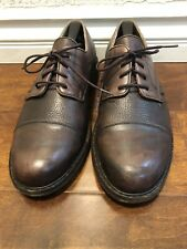 Mephisto Mens Brown Leather Air Relax Oxford Shoes Size 10