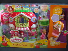 NEW Strawberry Shortcake Berry Bitty Market BONUS Orange Blossom Doll + Roadster